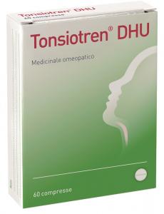 TONSIOTREN 60 COMPRESSE DHU - MEDICINALE OMEOPATICO