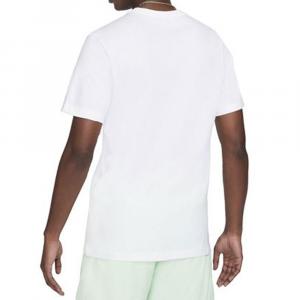 Nike T-Shirt Just Do It Bianco da Uomo