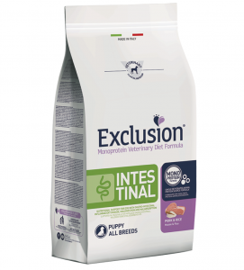 Exclusion - Veterinary Diet Canine - Intestinal - Puppy - 12kg