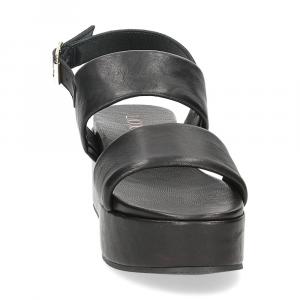 Il Laccio sandalo GL9 pelle nera-3