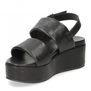 Il Laccio sandalo GL9 pelle nera-4