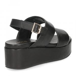 Il Laccio sandalo GL9 pelle nera-5