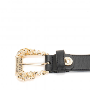 Cintura in pelle Versace Jeans Couture D8VWAF0171627899 NERO  -21