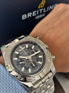 Orologio primo polso Breitling Chronomat