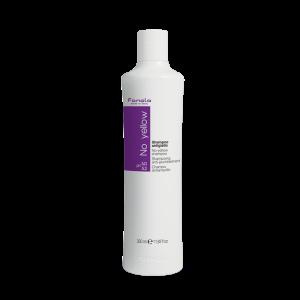 Fanola Shampoo No Yellow 350ML per la neutralizzazione del giallo indesiderato per capelli decolorati, biondi, mèches, grigi