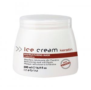 INEBRYA Ice Cream Keratin Restructuring Mask - 500 ML