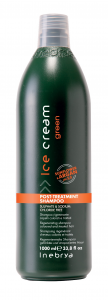 INEBRYA Ice Cream Green Post-Treatment Shampoo - 1000 ML