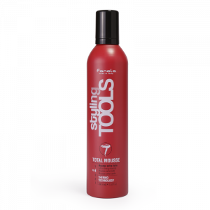 FANOLA Styling Tools Total Mousse - Mousse Extra Forte per Capelli - 400 ML