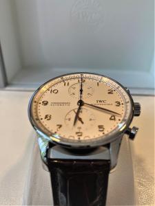 Orologio secondo polso IWC Portuguese Chronograph