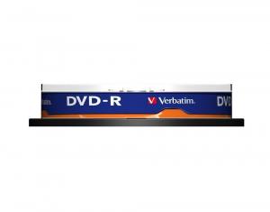 Verbatim DVD-R Matt Silver 4,7 GB 10 pezzo(i)