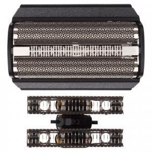 Braun Testina Di Ricambio 31B Nero - Compatibile Con I Rasoi Series 3
