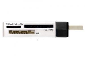 Trust 36-in-1 USB2 Mini Cardreader CR-1350p lettore di schede Bianco