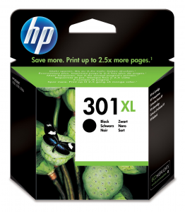 HP 301XL 1 pezzo(i) Originale Resa elevata (XL) Nero