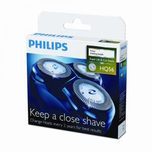 Philips blocco 3 testine Lift & Cut Compatibili con la serie HQ900 HQ56/50 - Philips HQ56 - Set testina e taglio
