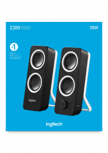 Logitech Z200 Nero Cablato 10 W