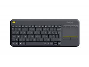 Logitech K400 Plus tastiera RF Wireless QWERTY Italiano Nero