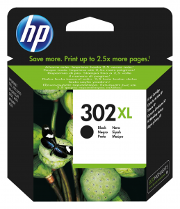 HP 302XL Originale Nero 1 pezzo(i)