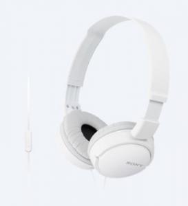 Sony MDR-ZX110AP Cuffia Padiglione auricolare Connettore 3.5 mm Bianco