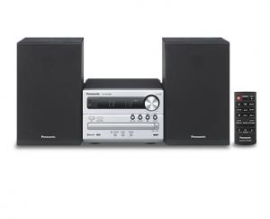 Panasonic SC-PM250BEG Microsistema audio per la casa Nero, Argento
