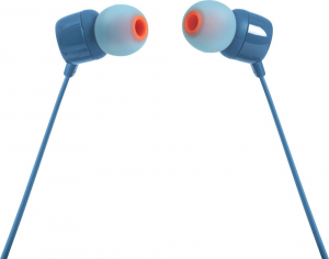 JBL T110 Cuffia Auricolare Connettore 3.5 mm Blu