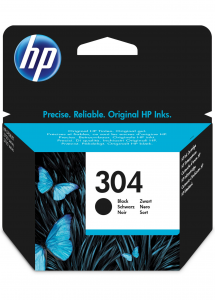 HP 304 Originale Resa standard Nero
