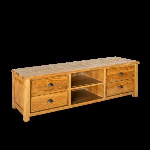 Porta TV in legno di teak