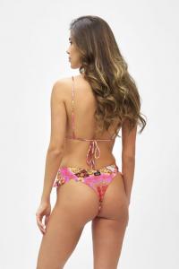 Bikini Triangolo alto e slip brasiliano volant Venture Effek Taglia L