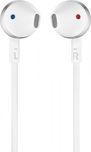 JBL T205 Cuffia Auricolare Connettore 3.5 mm Cromo, Bianco