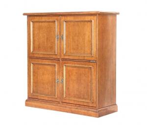 Storage wood cabinet