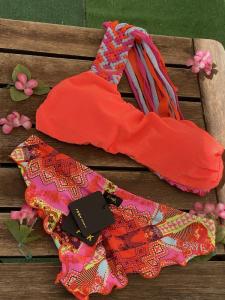 Bikini fascia monospalla e slip coulotte Venture Effek