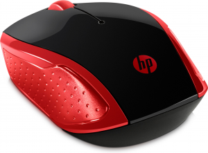 HP 200 mouse Ambidestro RF Wireless Ottico 1000 DPI