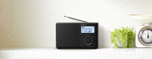 Sony XDR-S61D Personale Nero