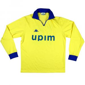 1990-92 Juventus Primavera Maglia Match Worn Away #16 XL (Top)
