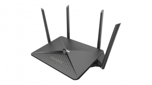 D-Link EXO AC2600 MU-MIMO router wireless Gigabit Ethernet Dual-band (2.4 GHz/5 GHz) Nero