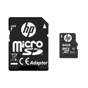 HP SDU64GBXC10HP-EF memoria flash 64 GB MicroSDXC UHS-I Classe 10
