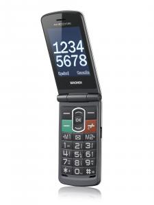 Brondi Amico N;Uno 108 g Titanio Telefono per anziani