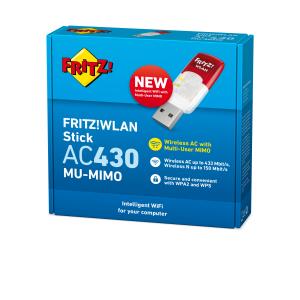 AVM FRITZ!WLAN Stick AC 430 MU-MIMO International 583 Mbit/s
