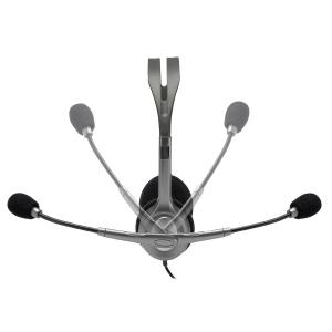 Logitech H111 Cuffia Padiglione auricolare Connettore 3.5 mm Grigio