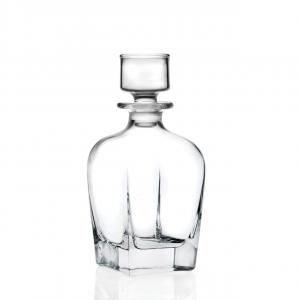 Bottiglia quadrata da Whisky in cristallo CL 80