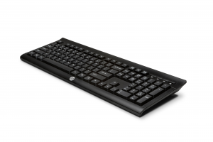 HP K2500 tastiera RF Wireless Nero