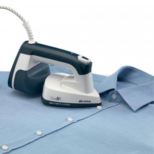 Ariete stiratore verticale portatile 6246 Vapore per indumenti  0,18 L 1000 W Blu, Bianco