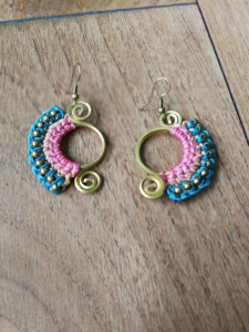 Boucles d'oreilles gitanes style tribal | Bijouterie Boho chic en ligne