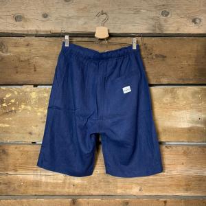 Pantaloncino Bakery Lakota Shorts Porto Lucas Lino Blu Navy