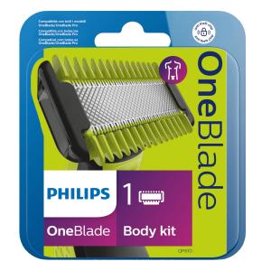 Philips Norelco OneBlade 1 lama per il corpo, kit corpo