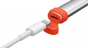Logitech 914-000034 penna per PDA Arancione, Bianco 20 g