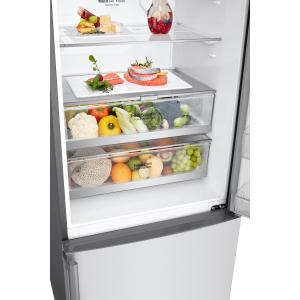 LG GBB569NSAFB frigorifero con congelatore Libera installazione 451 L D Acciaio inossidabile