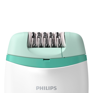 Philips Satinelle Essential Epilatore compatto, con filo, per gambe