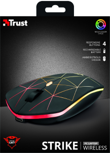 Trust GXT 117 Strike mouse Ambidestro RF Wireless 1400 DPI