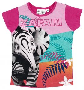 Maglietta Zafari  Bambina da 3 a 6 Anni novità Estate 2021-2
