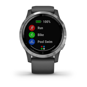 Garmin vívoactive 4 smartwatch Argento 3,3 cm (1.3